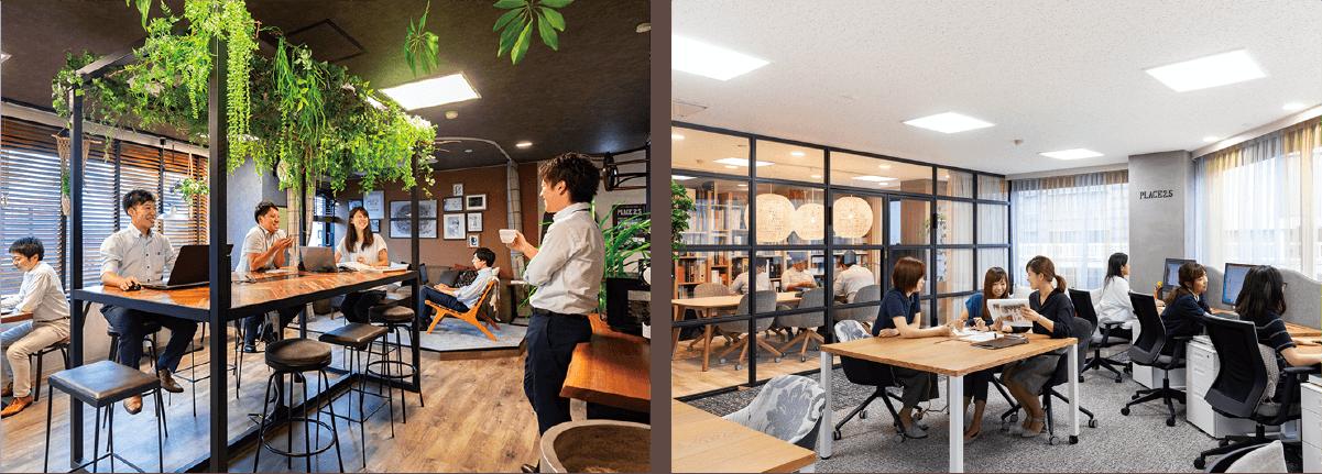 名古屋 五感に響く体験型オフィス