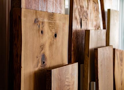 岡崎製材 銘木天板
